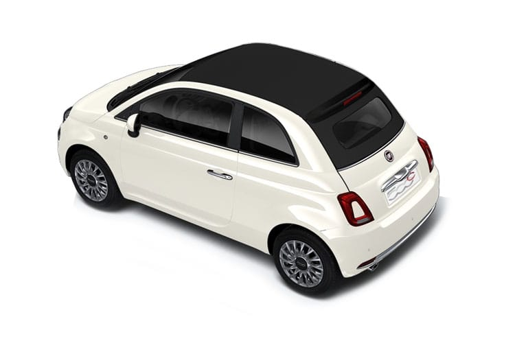 Fiat 500e C Convertible Elec 42kWh 87KW 118PS Icon 2Dr Auto back view