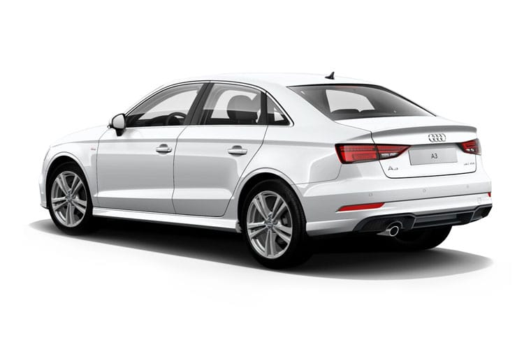 Audi A3 35 Saloon 4Dr 2.0 TDI 150PS Edition 1 4Dr S Tronic [Start Stop] [Comfort Sound] back view