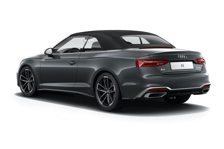 Audi A5 35 Cabriolet 2Dr 2.0 TFSI 150PS Edition 1 2Dr S Tronic [Start Stop] back view