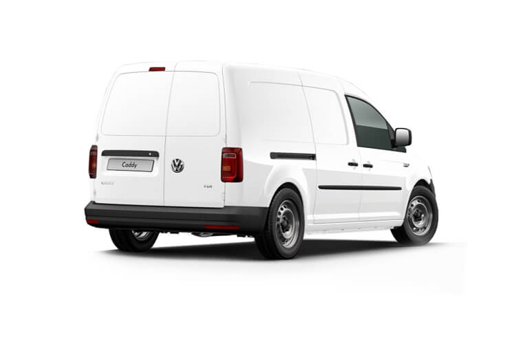 Volkswagen Caddy Cargo Maxi C20 N1 2.0 TDI FWD 102PS Kombi Crew Van Manual [Start Stop] back view