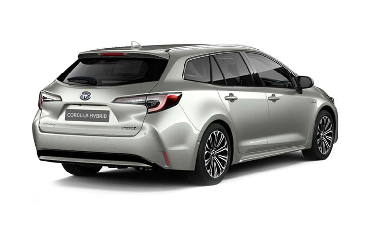 Toyota Corolla Touring Sports 1.8 VVT-h 122PS Trek 5Dr CVT [Start Stop] back view