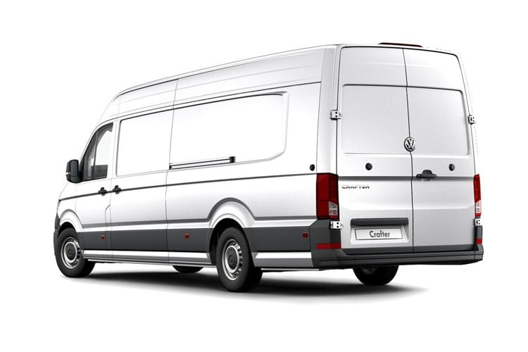Volkswagen Crafter CR35MWB RWD 2.0 TDI RWD 177PS Trendline Van High Roof Manual [Start Stop] back view