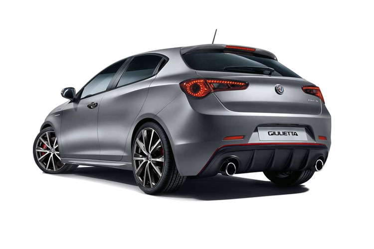 Alfa Romeo Giulietta Hatch 5Dr 2.0 JTDM-2 170PS Veloce 5Dr TCT [Start Stop] back view
