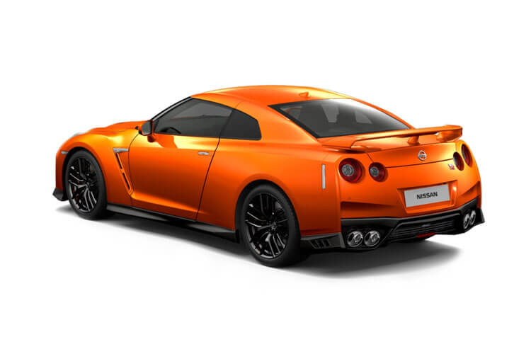 Nissan GT-R Coupe 3.8 V6 570PS Prestige 2Dr Auto back view
