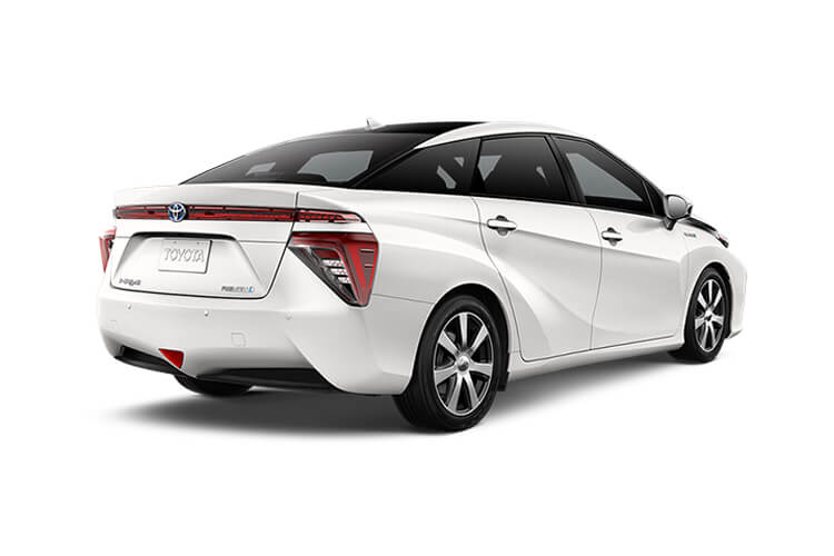 Toyota Mirai Saloon 0.0 Fuel Cell 154PS  4Dr Auto back view