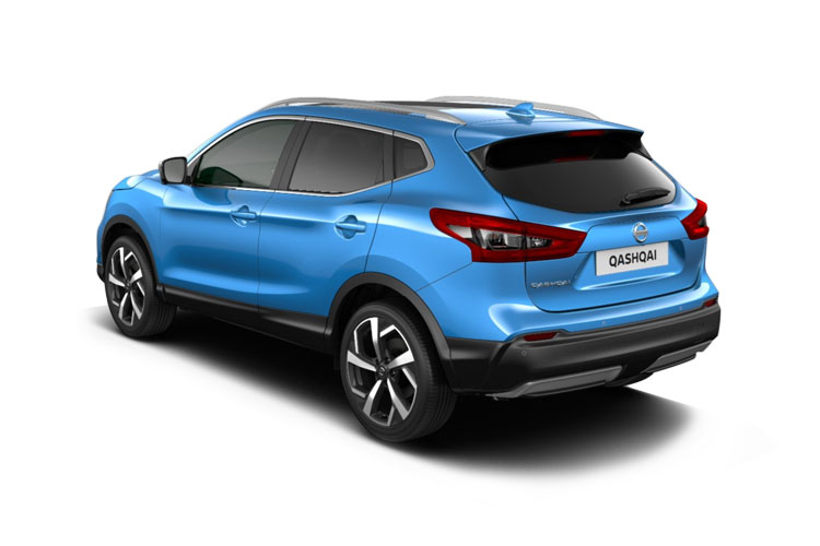 Nissan Qashqai SUV 2wd 1.3 DIG-T 140PS N-Connecta 5Dr Manual [Start Stop] [Pan Roof] back view