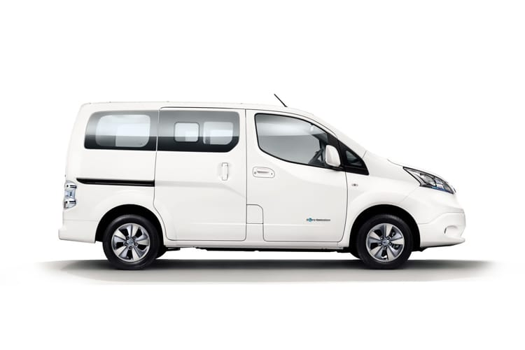 Nissan NV200 e-NV200 Combi M1 Elec 40kWh 80KW FWD 109PS Acenta 50kW QC Combi Auto [5Seat] detail view