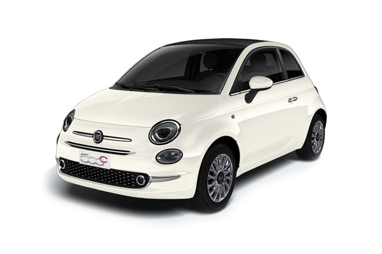 Fiat 500e C Convertible Elec 42kWh 87KW 118PS Icon 2Dr Auto front view