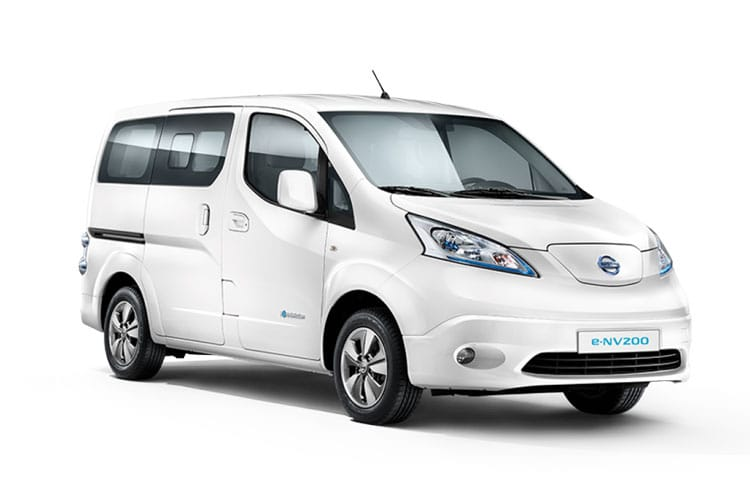 Nissan NV200 e-NV200 Combi M1 Elec 40kWh 80KW FWD 109PS Acenta 50kW QC Combi Auto [5Seat] front view