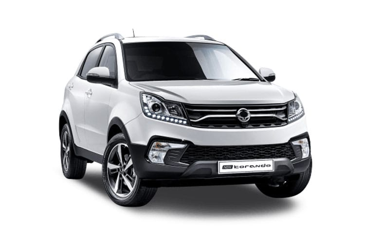 Ssangyong Korando SUV 5Dr 4wd 1.6 D 136PS Pioneer 5Dr Auto front view