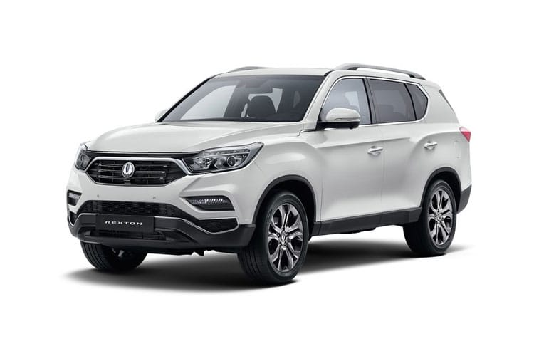 Ssangyong Rexton SUV 4wd Selectable 2.2 D 181PS ELX 5Dr T-Tronic front view