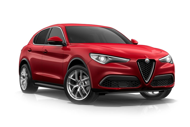 Alfa Romeo Stelvio SUV Q4 AWD 2.2 TD 210PS Veloce 5Dr Auto [Start Stop] [Driver Assistance Plus] front view