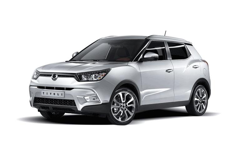 Ssangyong Tivoli SUV 5Dr 1.6 P 128PS ELX 5Dr Manual [Start Stop] front view