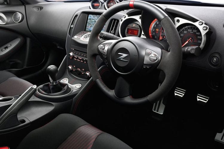 Nissan 370Z Coupe 3Dr 3.7 V6 344PS Nismo 3Dr Manual inside view