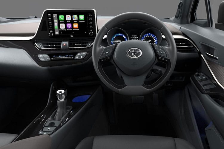 Toyota C-HR 5Dr 1.8 VVT-h 122PS Excel 5Dr CVT [Start Stop] inside view