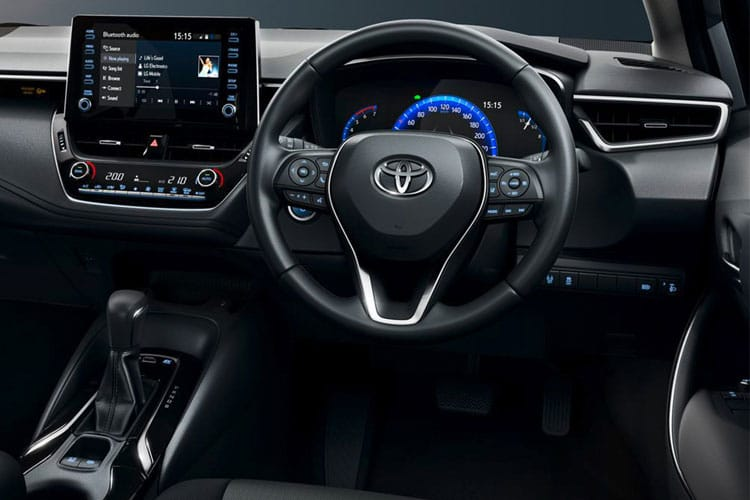 Toyota Corolla Saloon 1.8 VVT-h 122PS Icon 4Dr CVT [Start Stop] inside view