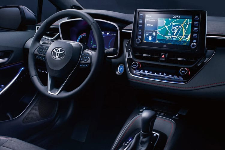 Toyota Corolla Touring Sports 1.8 VVT-h 122PS Trek 5Dr CVT [Start Stop] inside view