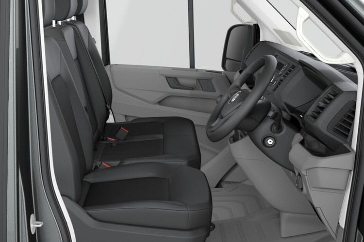 Volkswagen Crafter CR35LWB FWD 2.0 TDI FWD 140PS Startline Chassis Cab Manual [Start Stop] [Flat Frame] inside view