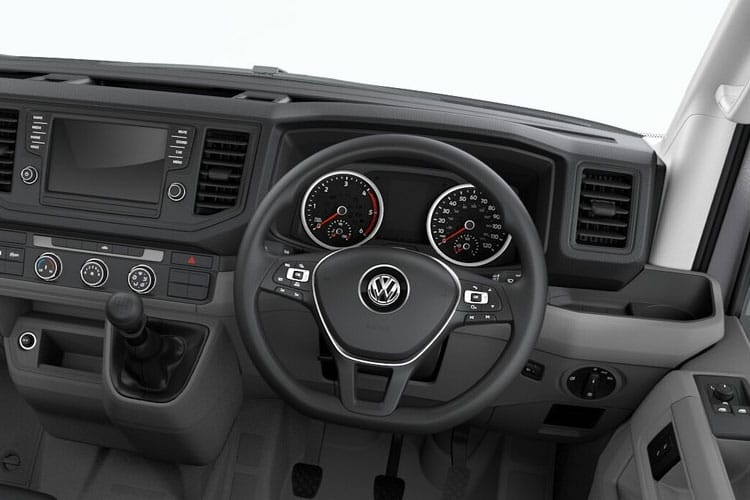 Volkswagen Crafter CR35MWB RWD 2.0 TDI RWD 177PS Trendline Van High Roof Manual [Start Stop] inside view