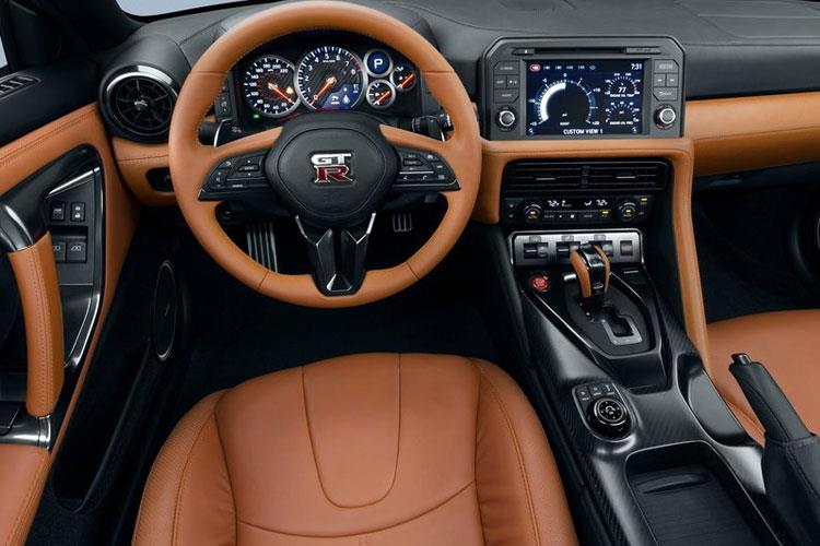 Nissan GT-R Coupe 3.8 V6 570PS Prestige 2Dr Auto inside view