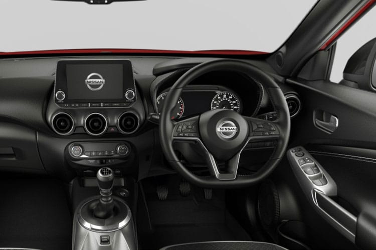 Nissan Juke SUV 1.0 DIG-T 114PS Tekna 5Dr DCT Auto [Start Stop] inside view