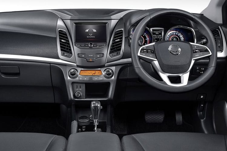 Ssangyong Korando SUV 5Dr 4wd 1.6 D 136PS Pioneer 5Dr Auto inside view