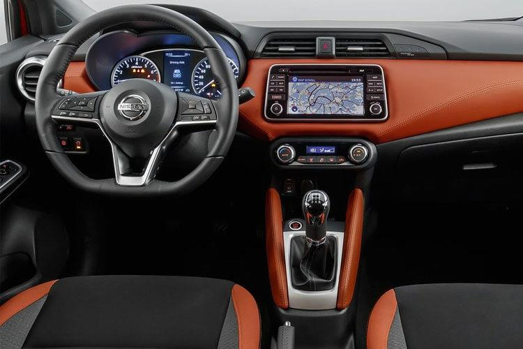Nissan Micra Hatch 5Dr 1.0 IG-T 100PS Acenta 5Dr XTRON [Start Stop] [Bose] inside view