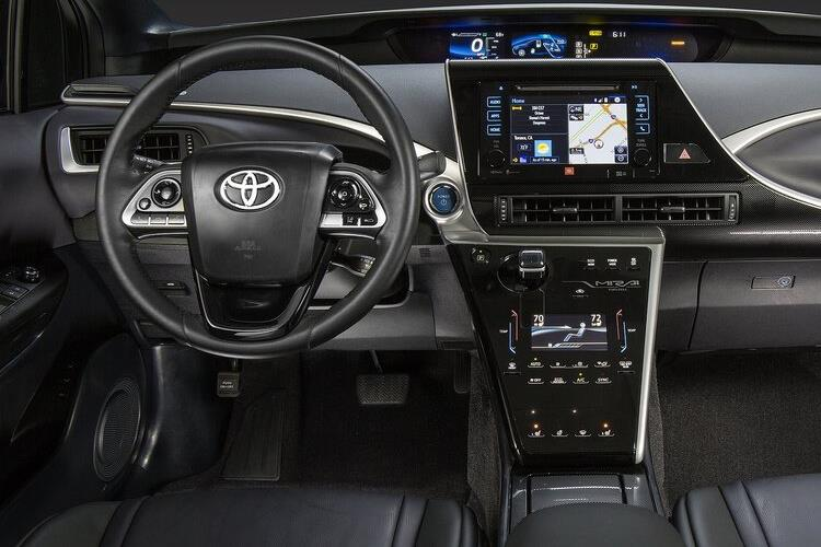 Toyota Mirai Saloon 0.0 Fuel Cell 154PS  4Dr Auto inside view