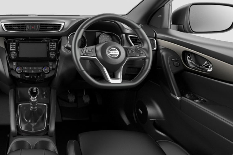 Nissan Qashqai SUV 2wd 1.3 DIG-T 140PS N-Connecta 5Dr Manual [Start Stop] [Pan Roof] inside view