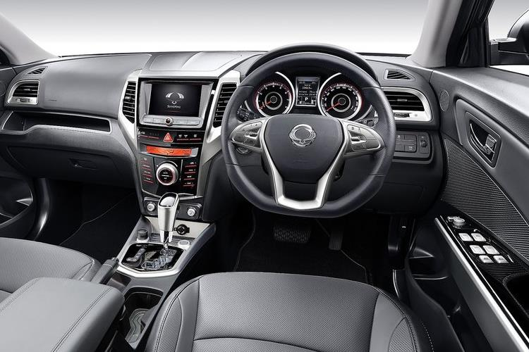 Ssangyong Tivoli SUV 5Dr 1.6 P 128PS ELX 5Dr Manual [Start Stop] inside view