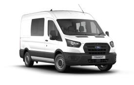 Ford Transit Crew Van 350 L3 RWD 2.0 EcoBlue RWD 130PS Leader Crew Van High Roof Manual [Start Stop] [DCiV]